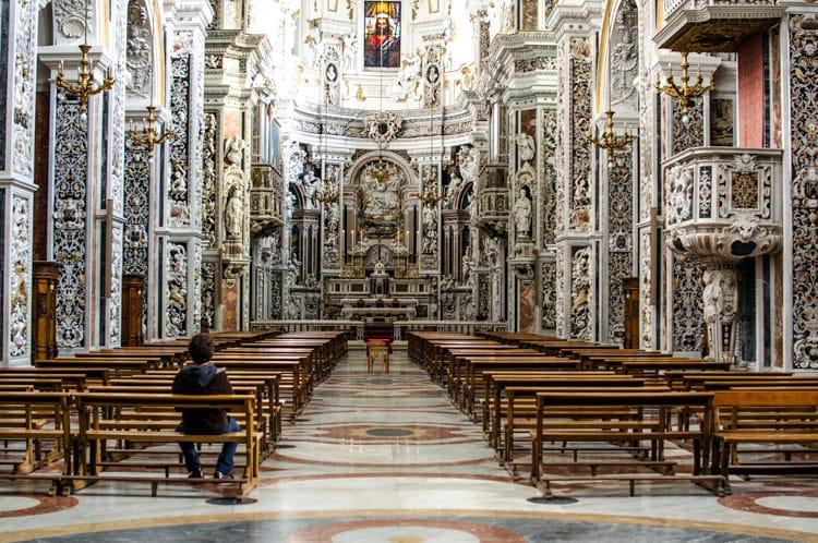 La chiesa del Gesù nota anche come Casa Professa.